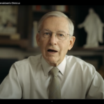 Link to a video of John Welch discussing the Christus statue with BYU Magazine