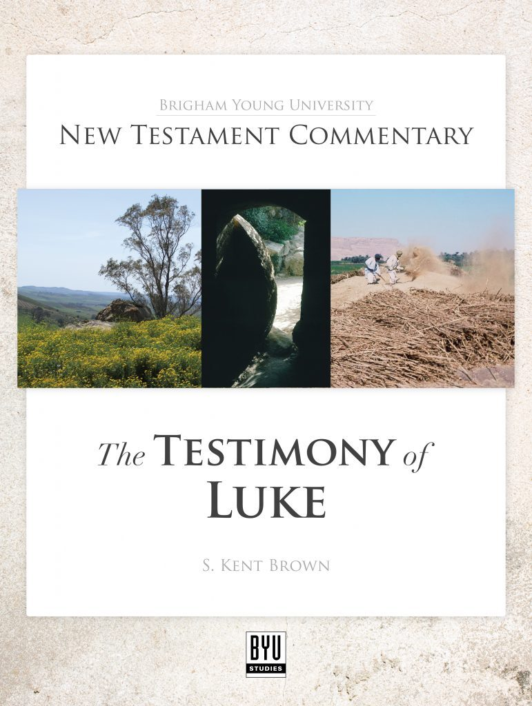 Luke Commentary cover